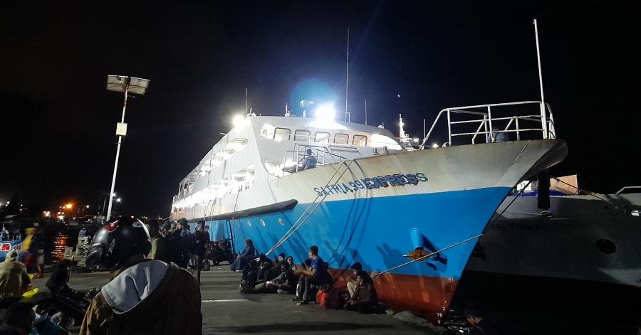 KSOP Kelas II Ternate Tunda Pelayaran Kapal ke Sejumlah Daerah