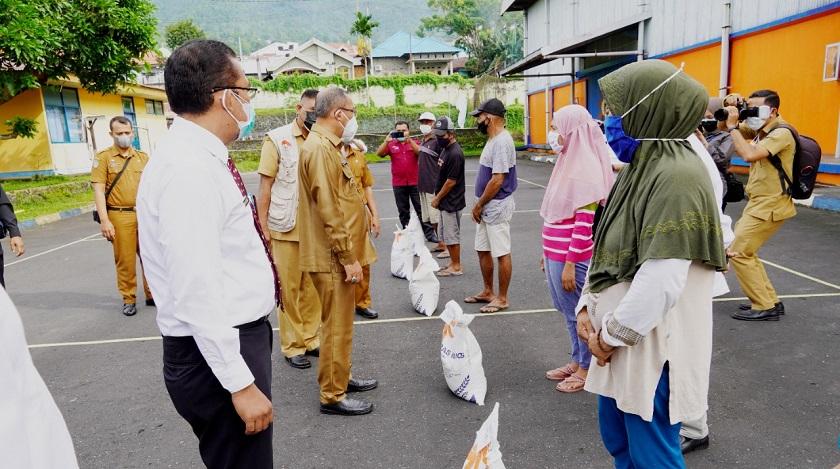 BPKP Kawal Penyaluran Beras kepada KPM dan PKH di Kota Ternate