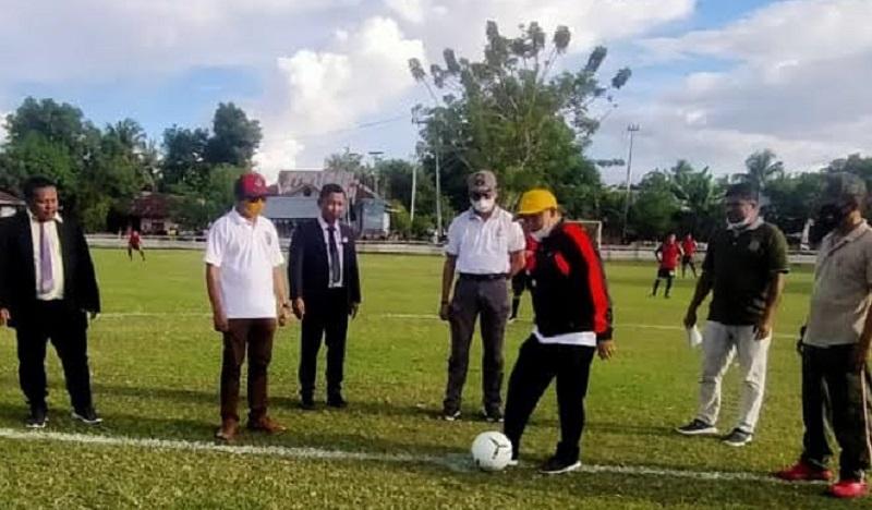 Covid Masih Tinggi di Sula, Turnamen Sepak Bola U-14 dan U-16 Ditunda