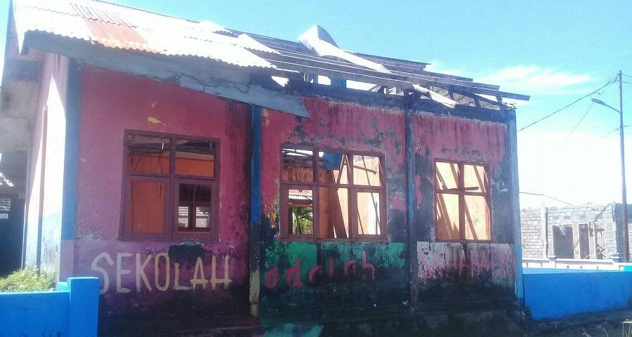 Tak Ada Ruang Guru dan Perpustakaan di SD Negeri Tutuhu, Pemda Morotai Diminta Perhatian